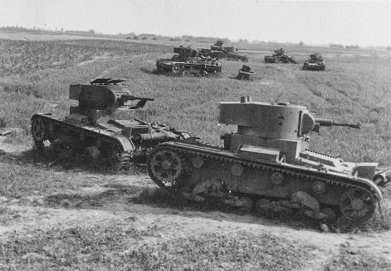 Destroyed 19th Tank Division Near Vojnitsa-Lutsk Highway