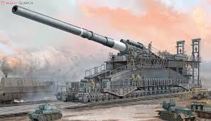 "- 800mm (31.5 inch) German Artillery - ""Dora"""