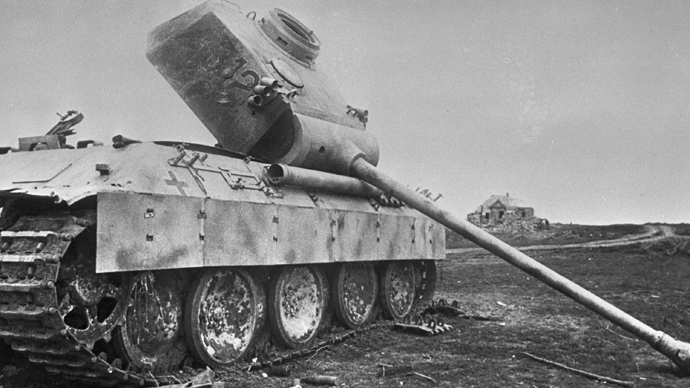 WWI Prokhorovka Tank-Battle Photo