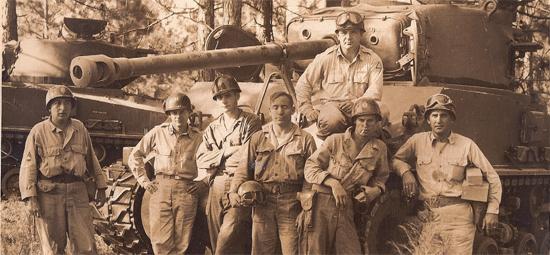 WWII Tank Crew