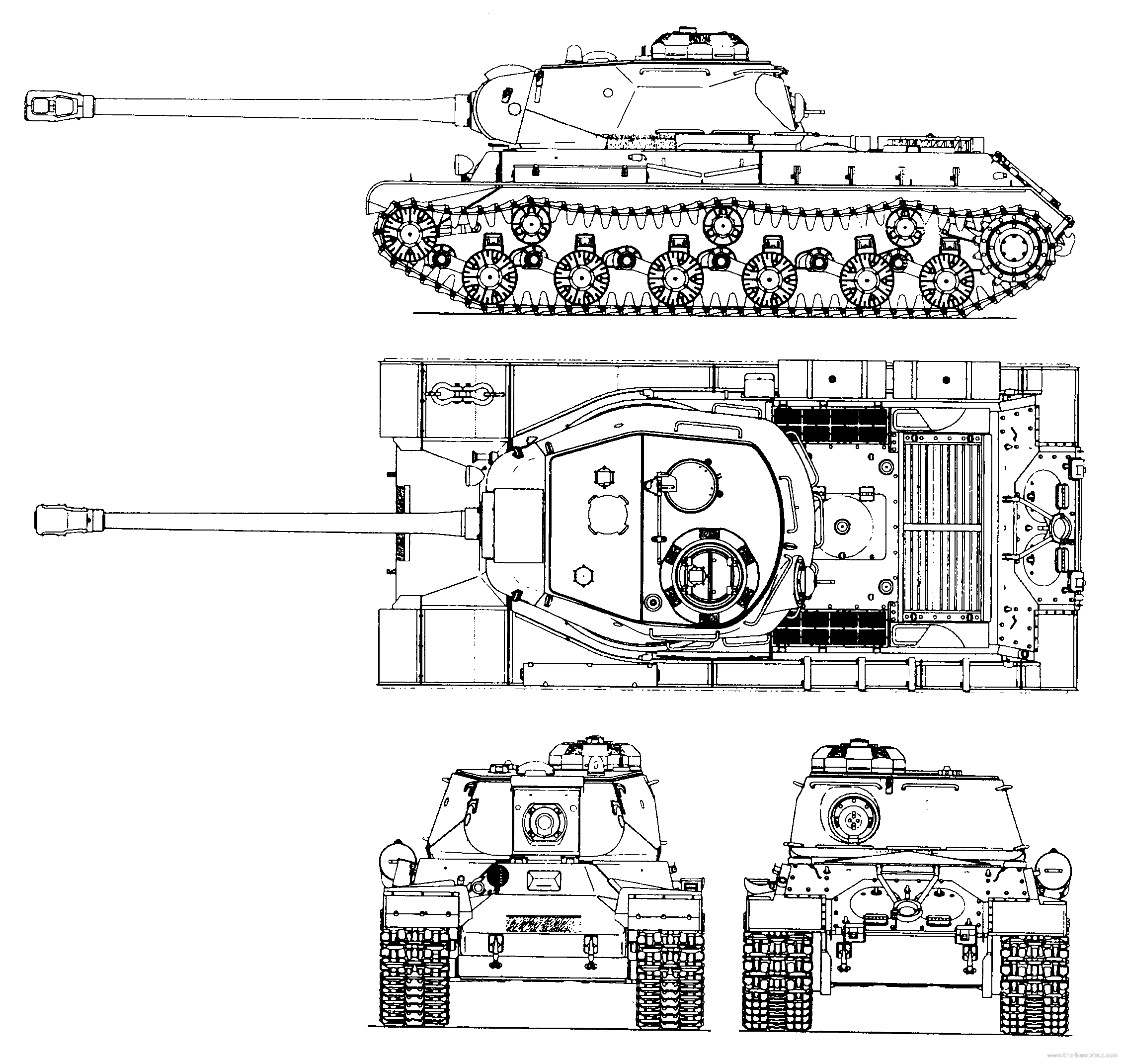 IS-2 Drawings