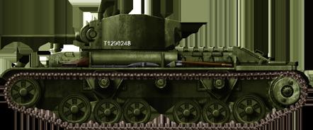 Infantry Tank - MkIII Valentine I