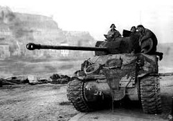 WWII Tank with Crew