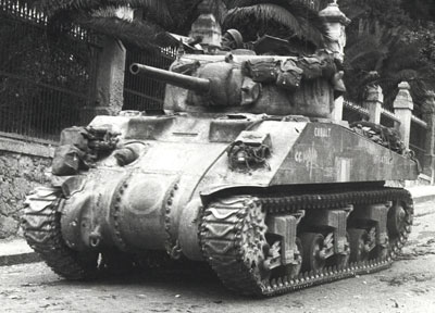 British - Italy Can Sherman