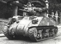 British - Italy Can Sherman