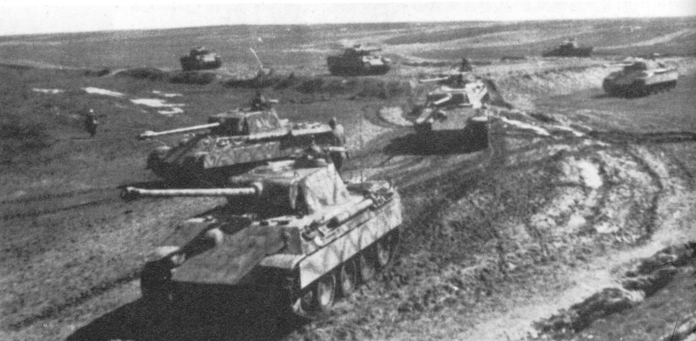 Tanks in WWII Battle of Kursk