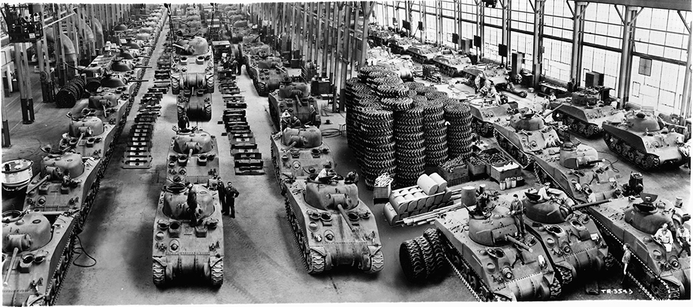 WWII Tank Factory