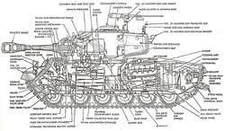 M26-Pershing - Cutaway Drawing