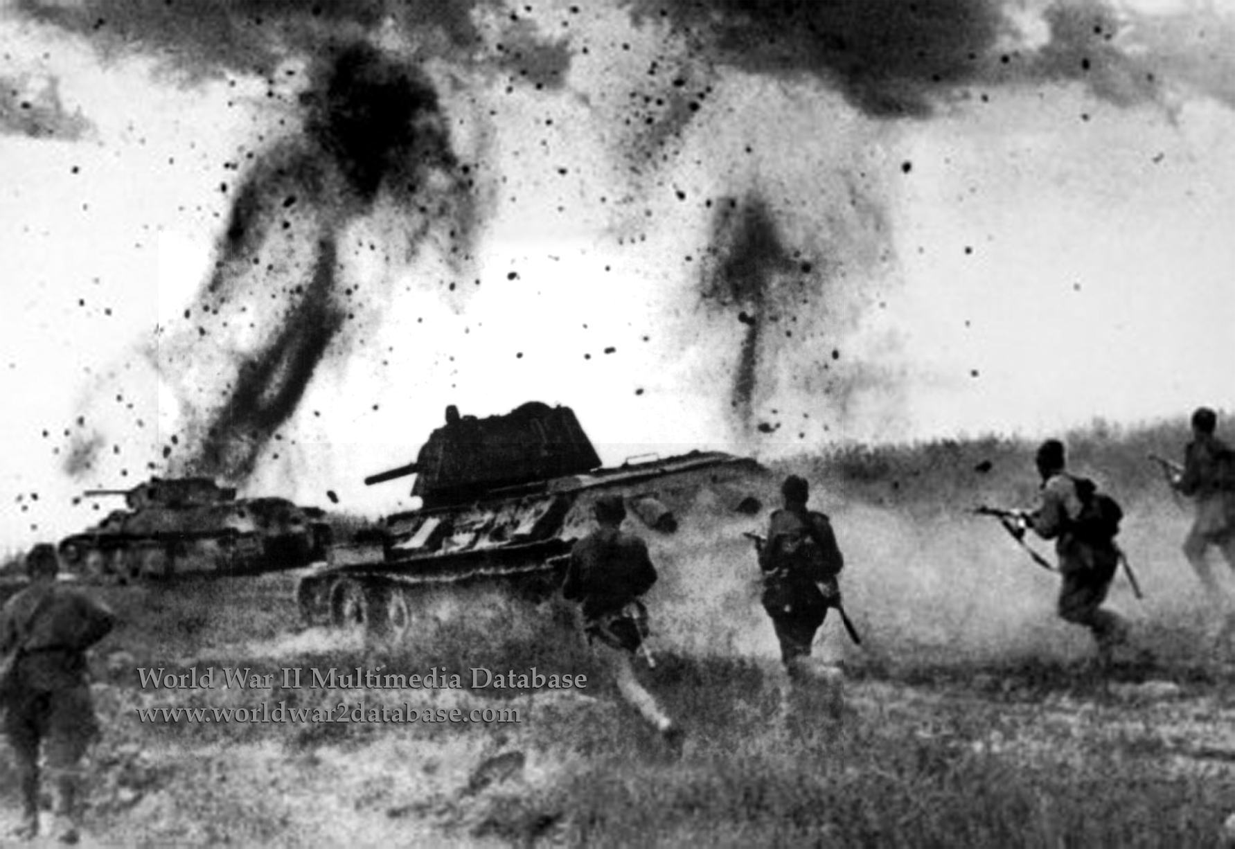 WWII Prokhorovka Tank-Battle Photo