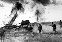 WWII Prokhorovka Tank-Battle Photo