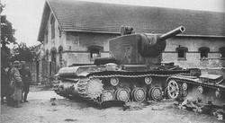 WWII Soviet Tank