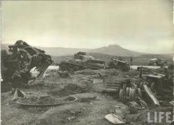 WWII Tank-Battle Aftermath