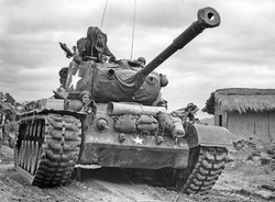 Pershing - Korea - 1952