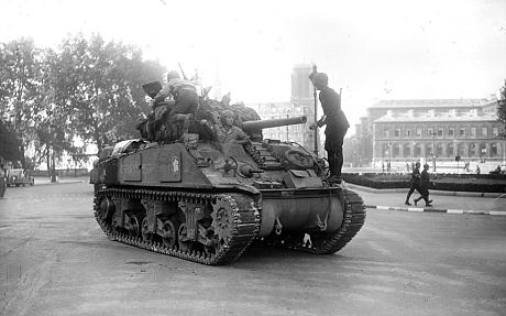 WWII Sherman Tank