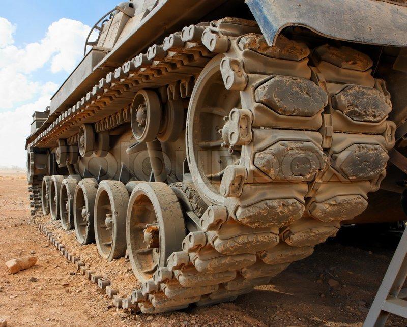 Israeli Magach Tank Tracks