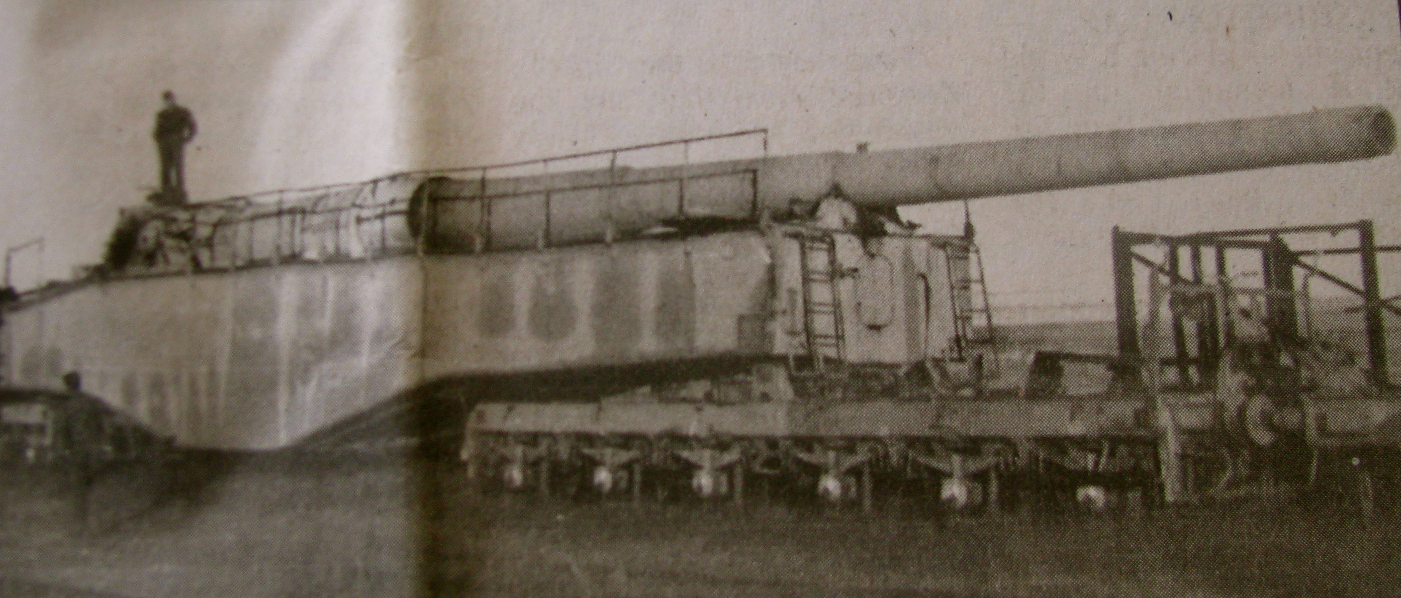 Giant WWII Artillery