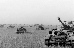 German Tanks at the Battle of Kursk - 1943