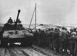 King Tiger - US Prisoners - Battle of the Bulge