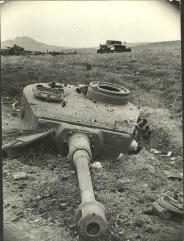 WWII Tank Turret