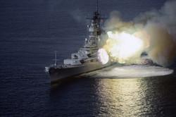 01 - USS Wisconsin 16in Guns