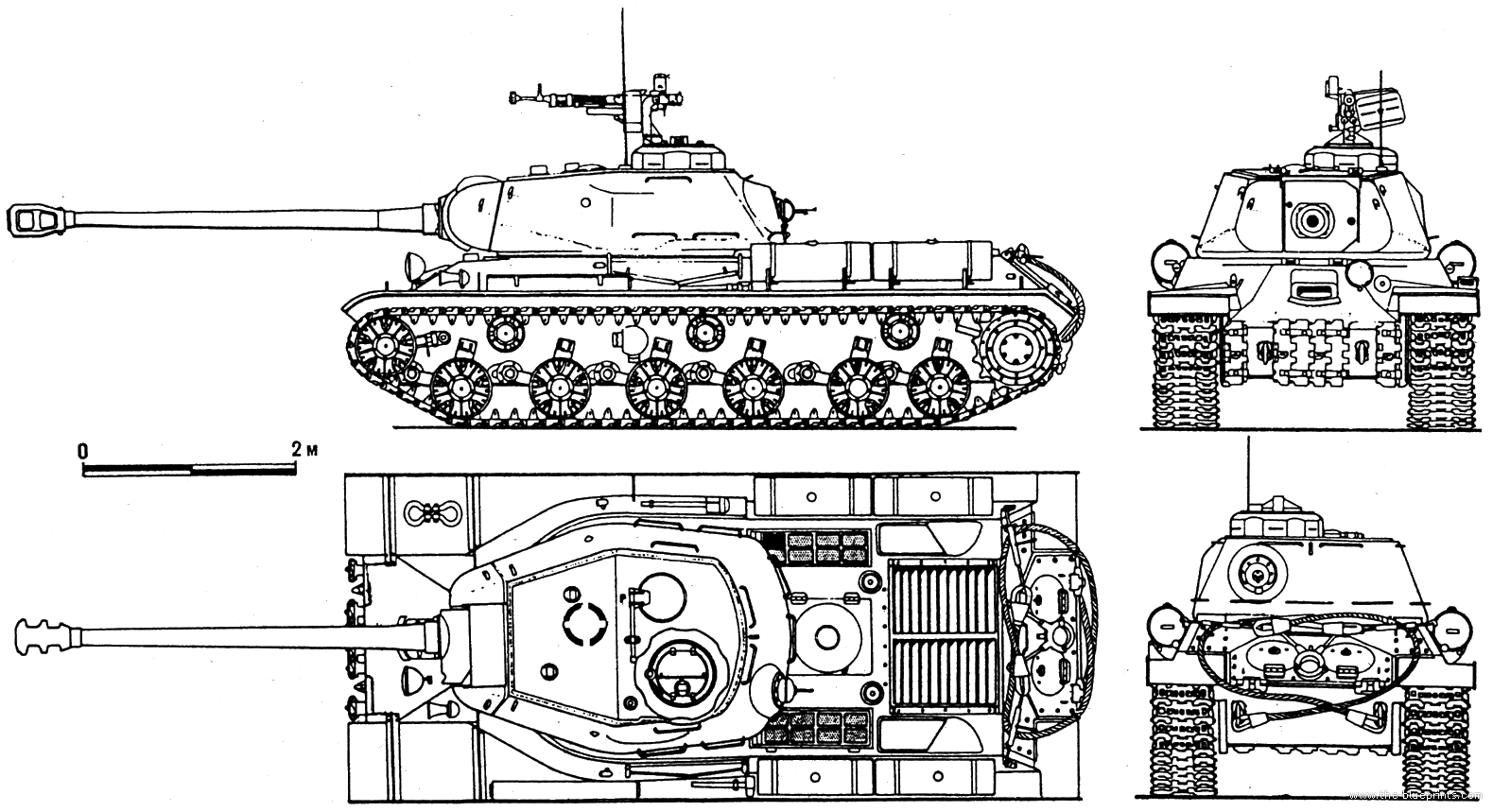 IS-2-3 Drawings