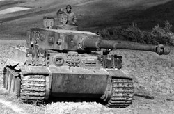 WWII Tank with Commander