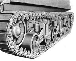 M4 Sherman Tank-Track Drawing