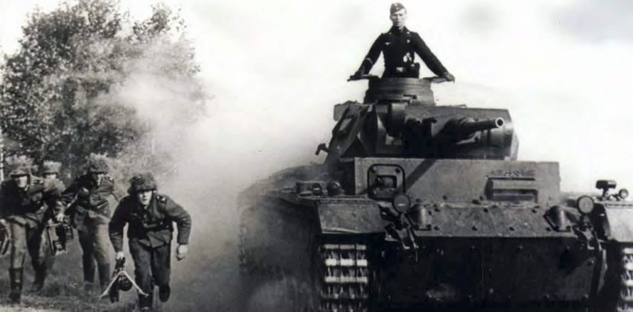 WWII Tank and Commander