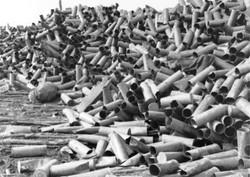 WWII Artillery Shells