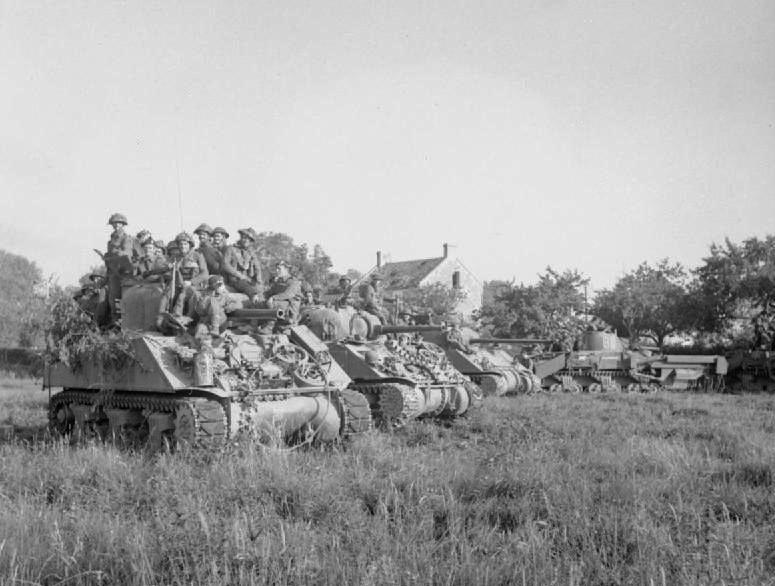 WWII Tank Company