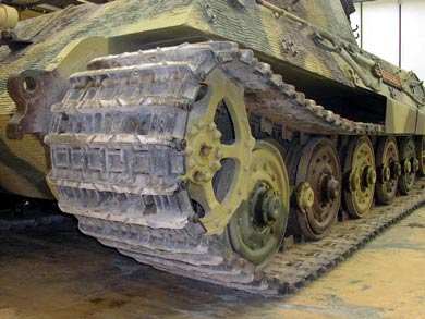German Panther Tank-Track
