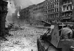 Tank in WWI Battle