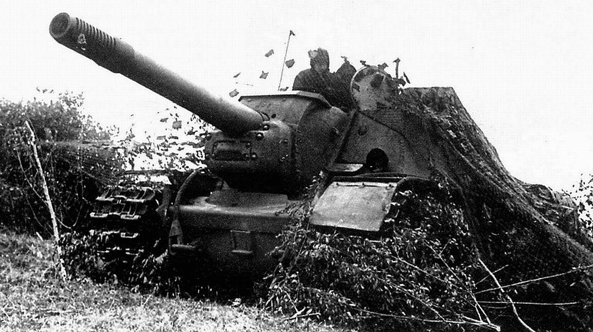 SU-152 Russian SPG