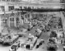 WWII Tank Assembly Plant