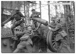 French Artillery Loading 220-mm Gun - May1940