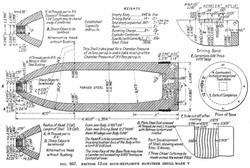 BL 12-inch Howitzer Shell - MkV Diagram