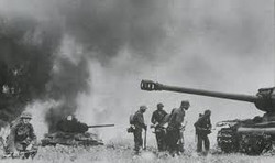WWII Battle Photo