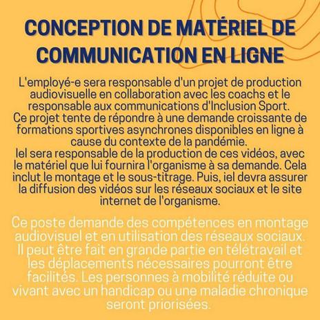 Offres d'emploi été 2021_conception_communication