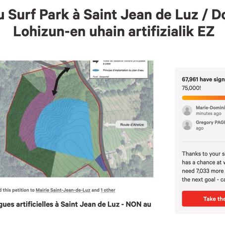 Pétition d'Herri Berri : presque 70 000 signatures !