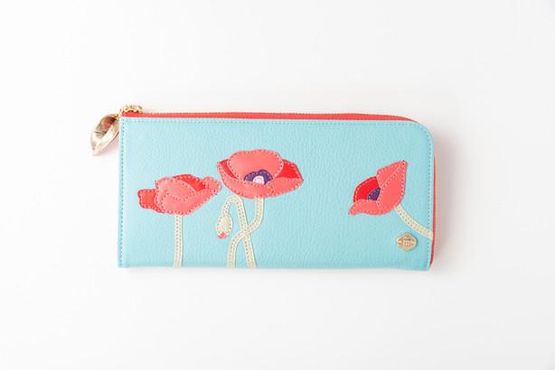 round zip wallet