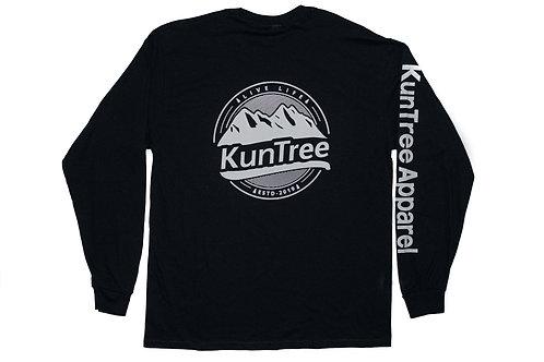 """Black """"EST KunTree"""" LS"""