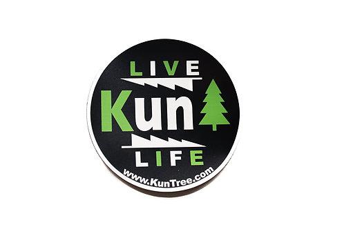 """Live KunTree Life"" Magnet"