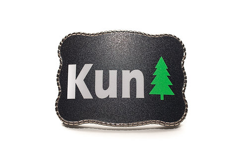 """KunTree"" Wallet Buckle"