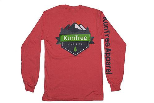 "Coral ""Live KunTree Life"" LS"