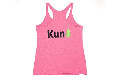 """Pink """"KunTree""""  Ladies Tank Top"""
