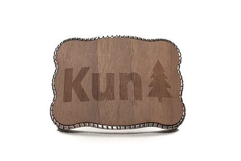"""""""KunTree"""" Wooden Wallet Buckle"""
