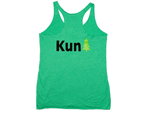 "Green ""KunTree"" Ladies' Tank Top"