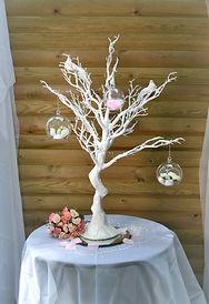 Wishign Tree centrepiece