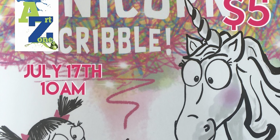 """StoryTime """"Never Let a Unicorn Scribble"""""""
