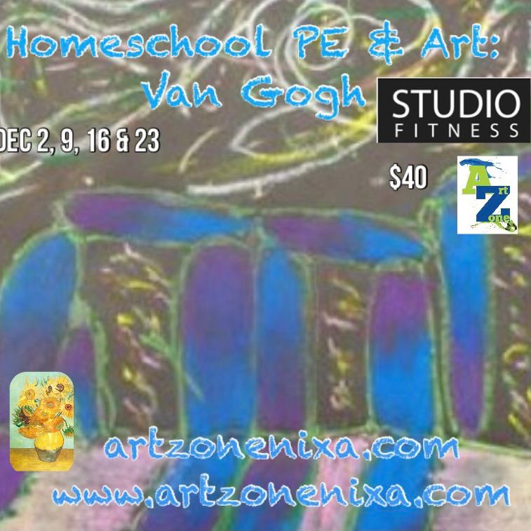 Homeschool Art & PE: Van Gogh